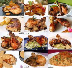Doce recetas con muslos de pollo