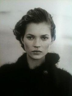 Kate Moss by Edward Steichen #KateMoss