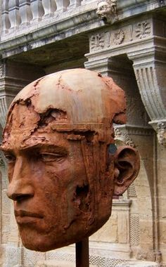 Christophe Charbonnel  |  Monumental head of Perseus, 2012