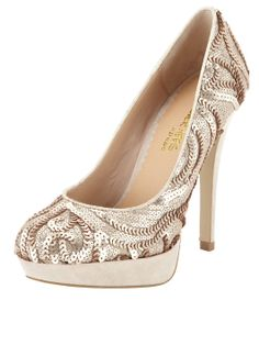 Head Over Heels Brodie Sequinned Court Very High Heels, Head Over Heels, Court Shoes, Make A Wish, Buy Now, Kids Outfits, Kids Fashion, Peep Toe, Sequins