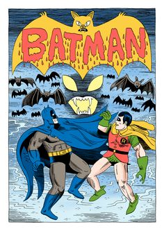 'Batman 349 for the Rejected by Covered blog'. By Jack Teagle