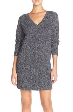 French Connection 'Naughty Brights' Cotton Sweater Dress available at #Nordstrom