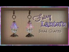 These darling fairy lantern bead charms look like they came straight from the enchanted forest. ;-) Yet it's so easy to make them yourself. :-) Antique bronz...