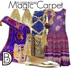 Disney Bound - Magic Carpet