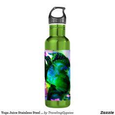Yoga Juice Stainless Steel Water Bottle