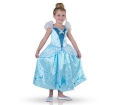 RUBIE'S Disney - Lasten puku Tuhkimo - Koko 5-6 vuotta