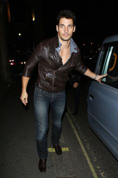 """David Gandy Photos - Model David Gandy arrives at the launch of the No Tell Motel room at Mahiki nightclub in London. The Dolce and Gabbana model is currently dating """"The Saturdays"""" star Mollie King. - Mollie King at Mahiki Nightclub"""