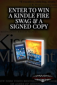 Win a Kindle Fire 7″, Signed Copies & Swag from NY Times & USA Today Bestselling Author Lara Adrian