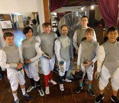 Men's Foil All-American Fencers!