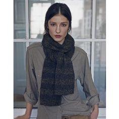 Tweed scarf. Helga Isager