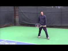 ONE HAND BACKHAND FOOTWORK| Shuffle Step Hit Tennis Footwork