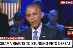 It Was 'a Mistake': Obama Reacts to Congress Overturning His Veto on 9/11 Bill