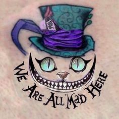 Find the desired and make your own gallery using pin. Drawn alice in wonderland awesome cat - pin to your gallery. Explore what was found for the drawn alice in wonderland awesome cat Rock Tattoo, Body Art Tattoos, Hand Tattoos, Sleeve Tattoos, Tattoo Cat, Disney Tattoos, Tatto Alice, Unique Tattoos, Small Tattoos