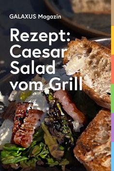 Caesar Salad, Gourmet, Crickets, Chef Recipes, Cooking