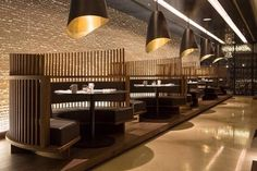 Details of the overall and category winners, and images of the winning projects, from the sixth year of the Restaurant and Bar Design Awards in Restaurant Design, Deco Restaurant, Restaurant Seating, Luxury Restaurant, Restaurant Lighting, Restaurant Concept, Design Café, Bar Interior Design, Cafe Interior