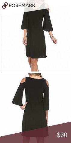 MSK cold shoulder dress in Red Red cold shoulder dress easy to wear wrinkle free fabric MSK Dresses