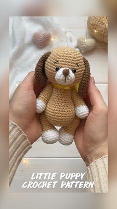 Crochet Animal Amigurumi, Crochet Teddy, Cute Crochet, Crochet Animals, Crochet Dolls, Crochet Baby, Crochet Dinosaur Patterns, Baby Knitting Patterns, Crochet Patterns