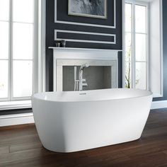 Contemporary freestanding bath from Tubs & Tiles