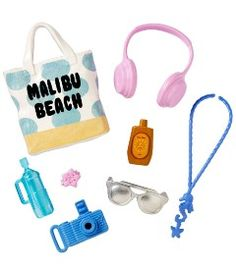 Roupinhas-e-Acessorios-para-Boneca---Barbie-Fashions---Beach-Days---Mattel