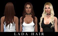 Leo 4 Sims: Lada hair - Sims 4 Hairs - http://sims4hairs.com/leo-4-sims-lada-hair/