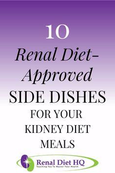 Renal Diet Food List, Dialysis Diet, Food For Kidney Health, Healthy Kidney Diet, Kidney Friendly Foods, Kidney Recipes, Chronic Kidney Disease, Diabetic Desserts, Diabetic Recipes