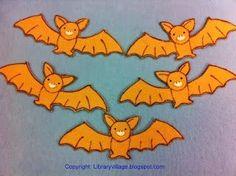 Library Village: Preschool Story Time - Going Batty! 5 Little Bats