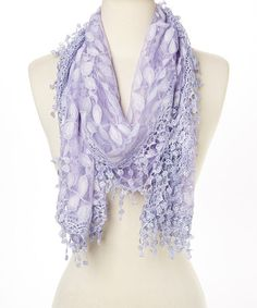 Another great find on #zulily! Purple Lace Oblong Scarf #zulilyfinds  http://www.zulily.com/invite/jroberts2947