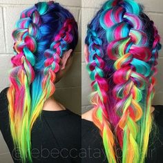 66 Unique Hair Color Ideas for Winter and Spring – Page 57 – My Beauty Note - New Hair Design Pretty Hair Color, Beautiful Hair Color, Unique Hairstyles, Braided Hairstyles, Latest Hairstyles, Bright Hair, Colorful Hair, Hair Dye Colors, Hair Colour