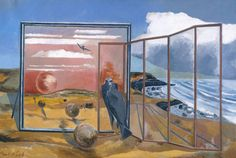 Paul Nash, Landscape from a Dream 1936-8 Tate: