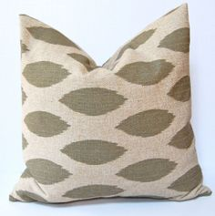 Decorative Pillows Accent Pillows Ikat Pillow by FestiveHomeDecor, $20.00