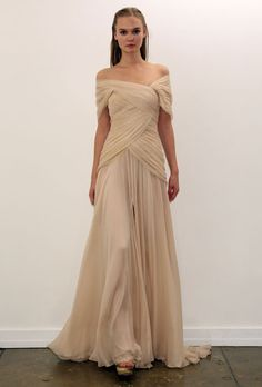 Browse Tadashi Shoji wedding dresses to find your favorite styles, fabrics, necklines, silhouettes and so much more, on Brides. Wedding Dresses Photos, Fall Wedding Dresses, Wedding Dress Styles, Bridesmaid Dresses, White Evening Gowns, Tadashi Shoji Dresses, Costume, Textiles, Dream Dress