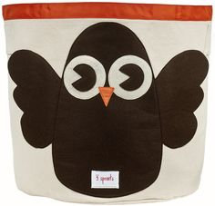 owl storage bin