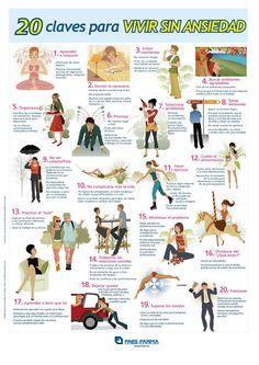 20 claves para vivir sin ansiedad