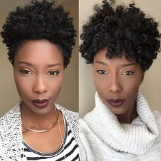 [The REAL vs. The CROCHET] So I wore my @curlkalon crochet braids for about 3 weeks now, and I must say I am in LOVE with that hair!!! It is everything!! My crochet braids were the perfect protective style for me. I wanted to keep my natural taper style, but give my hair a break and this was the perfect option!! I loveeee how natural it looks! It gave me a little taste of #HairGoals because this crochet length is definitely a length I can see my taper growing to!! If you're looking to…