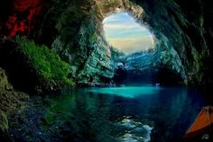 The breathtaking Mellasani cave in Greece...one day, Guisela, one day!