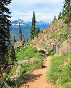 Hike the Highline Trail, Glacier National Park, Montana