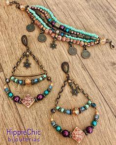 A imagem pode conter: joias Tassel Jewelry, Gypsy Jewelry, Cute Jewelry, Jewelry Crafts, Jewelry Art, Beaded Jewelry, Jewelery, Fashion Jewelry, Handmade Jewelry