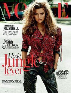 Vogue Paris, April 2014.