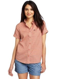 Fred Perry Women's Gingham Shirt, Gingersnap, 8US/12UK Fred Perry. $110.00. Gingham. 100% cotton. Made in China. Hand Wash