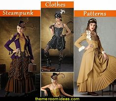 steampunk clothes sewing patterns