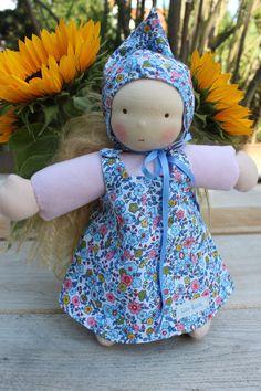 Puppen - Waldorfpuppe* GRETA* Schmusepuppe - ein Designerstück von Lille-lilith bei DaWanda