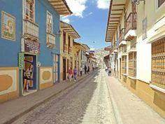Colonial city of Loja, Ecuador