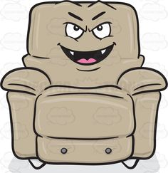 Mischievous Looking Stuffed Chair Smiling With Fangs Emoji #accent #bulky #cinemachair #comfort  sc 1 st  Pinterest & lazyboy lounge chairs | Jason Lazy Boy | La-Z-Boy Recliners La Z ... islam-shia.org