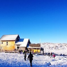 Ben Lomond – Tasmania's second highest peak - covered in a fresh layer of snow.