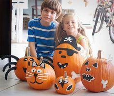 Forma divertida de decorar la calabaza con niños - Especial Halloween 2013 - Especiales - Charhadas.com