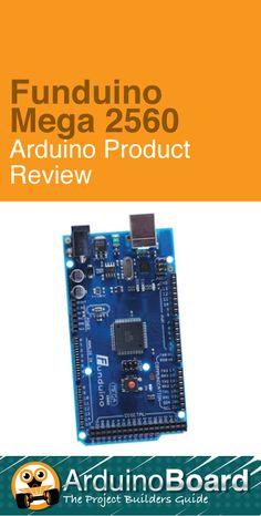 Funduino Mega 2560 :: Arduino Product Review - CLICK HERE for review http://arduino-board.com/boards/funduino-mega-2560