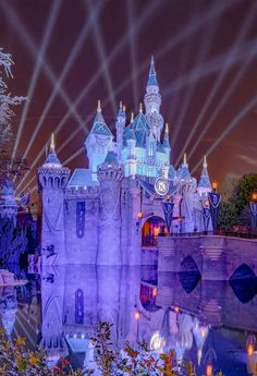 Disney Park Pictures ~M Disneyland California, Disneyland Resort, Park Pictures, Disney Pictures, Disney Parks, Walt Disney, Sleeping Beauty Castle, Disney Aesthetic, Festival Lights
