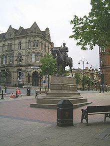 Statue of Prince Albert, Queen Square, Wolverhampton Homes England, Walsall, Devon And Cornwall, Uk Holidays, Wolverhampton, I Want To Travel, West Midlands, British Isles, Study Abroad