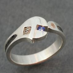 """the """"handy butch"""" wedding band. i hope some handsome butch somewhere is wearing this!"""