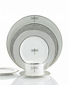 @Nadia Sadeghian  Kate spade new york dinnerware , June Lane collection!  For when you get married!!!